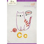 C Cat Embroidery Kit for Beginners