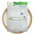 Alligator Embroidery Wall Kit (Penguin & Fish)