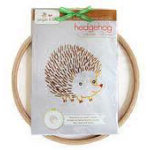 Hedgehog Embroidery Wall Kit (Penguin & Fish)