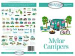 Mylar Campers Machine Embroidery Design
