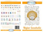 Mylar Seashells Machine Embroidery Designs