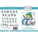 Purely Gates - Mylar Embroidery Designs - CD - Snowmen 2