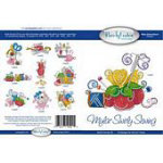 Mylar Swirly Sewing Multi Format Embroidery CD