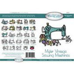 Mylar Vintage Sewing Machine CD
