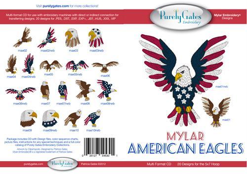Mylar Americane Eagles
