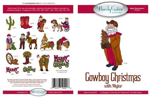 Cowboy Christmas w/Mylar