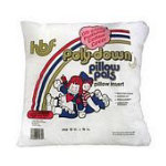Hobbs 16 Square Poly-Down Pillow Insert