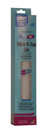 Stitch-N-Tear Lite 12in x 11yd Pellon Embroidery Stabilizer