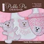 Teddy Bear Collection on CD from Pickle Pie Designs