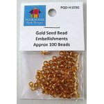 Gold Seed Beads Embellish Kit