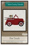 Fire Truck Precut Fused Applique Pack
