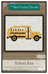 School Bus Precut Fused Applique Pack
