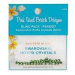 Swarovski 4mm Peridot Bling Pack