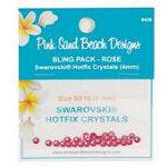 Swarovski 4mm Rose Bling Pack