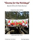 Gnome for the Holidays Bench Pillow & Table Runner