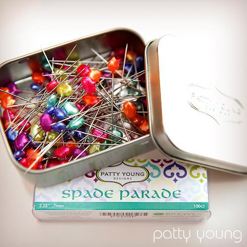 Spade Parade Designer Pins