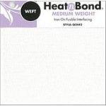 HeatnBond Weft Medium Weight White 23