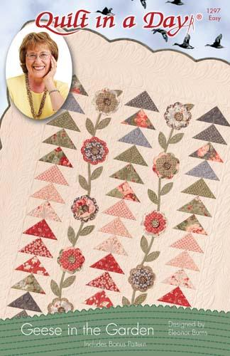 Geese In The Garden Pattern by Quilt in a Day