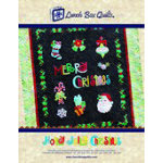 *Holly Jolly Christmas Applique Embroidery Quilt