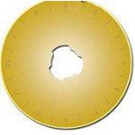 Gold Titanium Rotary Blades10p
