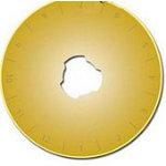 Gold Titanium Rotary Blades2pk