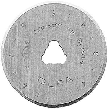 OLFA 28mm Rotary Cutter Replacement Blade (2pk)