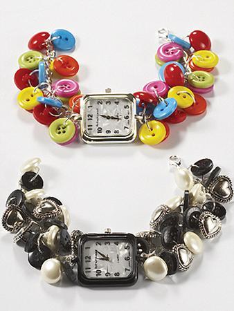 Button Dangle Watch Button Dangle Watch