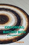 Colossal Round Rug and Jelly Roll Rug
