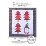 Scandinavian Tomte Christmas Quilt