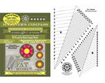 RR184 Fat Robin Mariners Compass Book and Ruler Combo