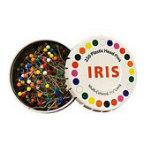 Iris Multi-Color Head Pins 1-1/2in 250 Pins