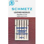 Schmetz Leather 5-pk sz14/90 10pkg/box