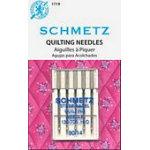 Schmetz machine needles, Quilting 5pk sz1490