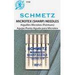 Schmetz Microtex 5pk sz12/80 1730