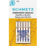Art 1742 75 / 90 Assorted Embroidery 5pk Schmetz