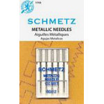 Schmetz Metallic 5-pk sz12/80, 10pkg/box