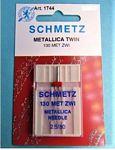 Schmetz Double Metallic Machine Needle size 2.5/80