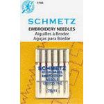 Schmetz Embroidery 5pk size 75/11