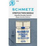Schmetz Stretch Twin 4.075