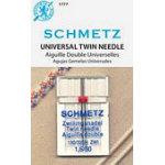 Schmetz Universal Twin size 1.6/80