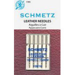 Schmetz Leather 5-pk sz16/100, 10pkg/box