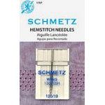 Schmetz 120/19 Chrome Hemstitch Needle