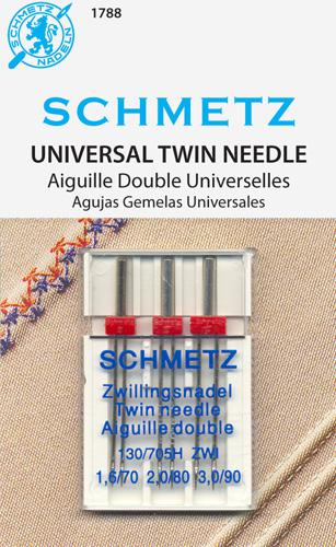 Schmetz Twin Asst sz708090
