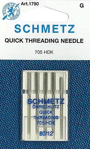 Schmetz Self-Threading Needle 80/12