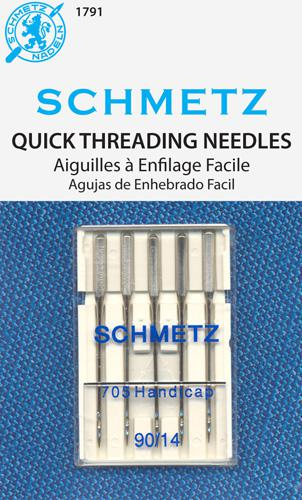 Schmetz Self Threading 5pk Size 14/90