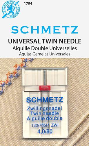 Schmetz Universal Twin 4.080