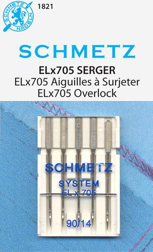 Schmetz Elna ELX705 5pk 90/14