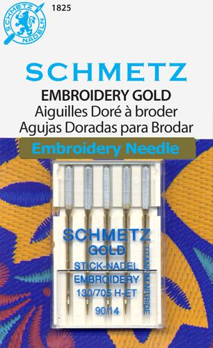 Schmetz Gold Embroidery s1490