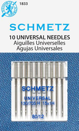 Schmetz Universal 10pk sz 80/12