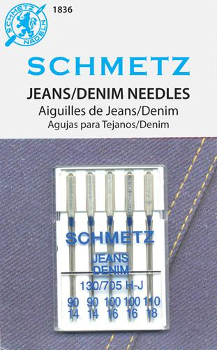 Schmetz Denim 5pk Assortment